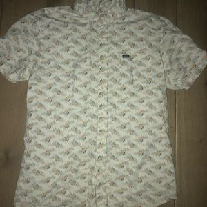 RVCA button up size small